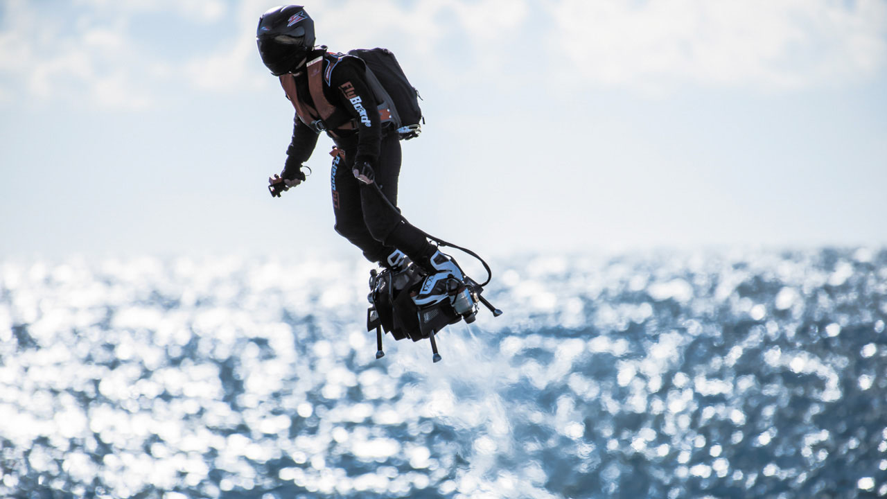 ANIMATION : Francky Zapata et son « FlyBoard Air » le samedi
